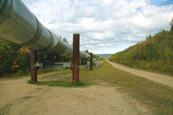 The Alaska pipeline.