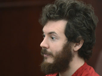 Accused Aurora theater gunman James Holmes during a court hearing last month in Centennial, Colo. R.J. Sangosti/pool /Reuters /Landov