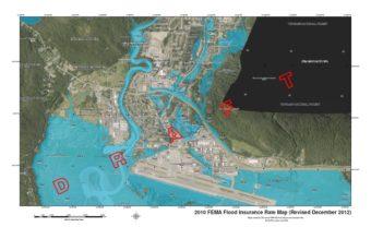 FEMA Mendenhall Valley Flood Map revised December 2012