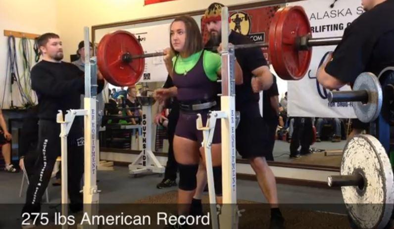 Bethel native sets several US powerlifting records