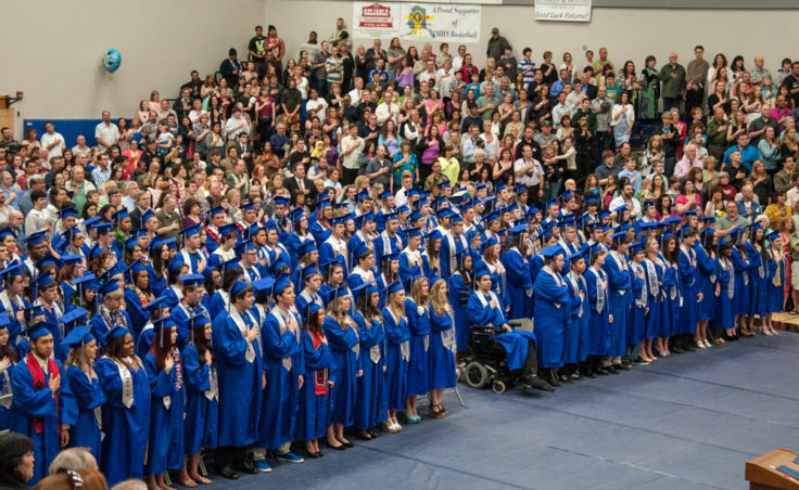 The Thunder Mountain High School class of 2013.