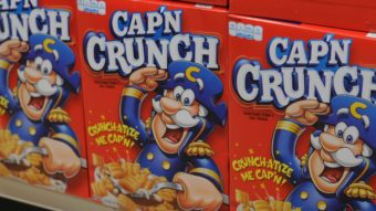 Say it ain't so, Cap'n. Quaker Oats Company/PepsiCo