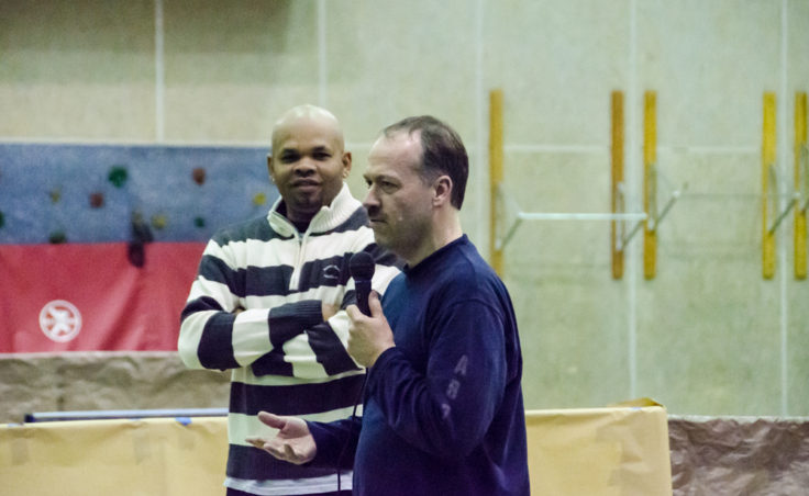 Will Shortz talks about his and Robert's table tennis tour.