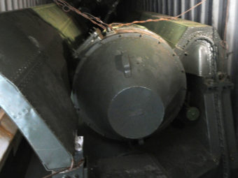 View of what seems to be weapon parts aboard a North Korean-flagged ship on Tuesday. Rodrigo Arangua/AFP/Getty Images