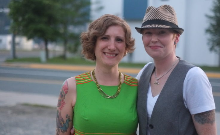 A picture of Kimberley Crawford and Marguerite Crawford