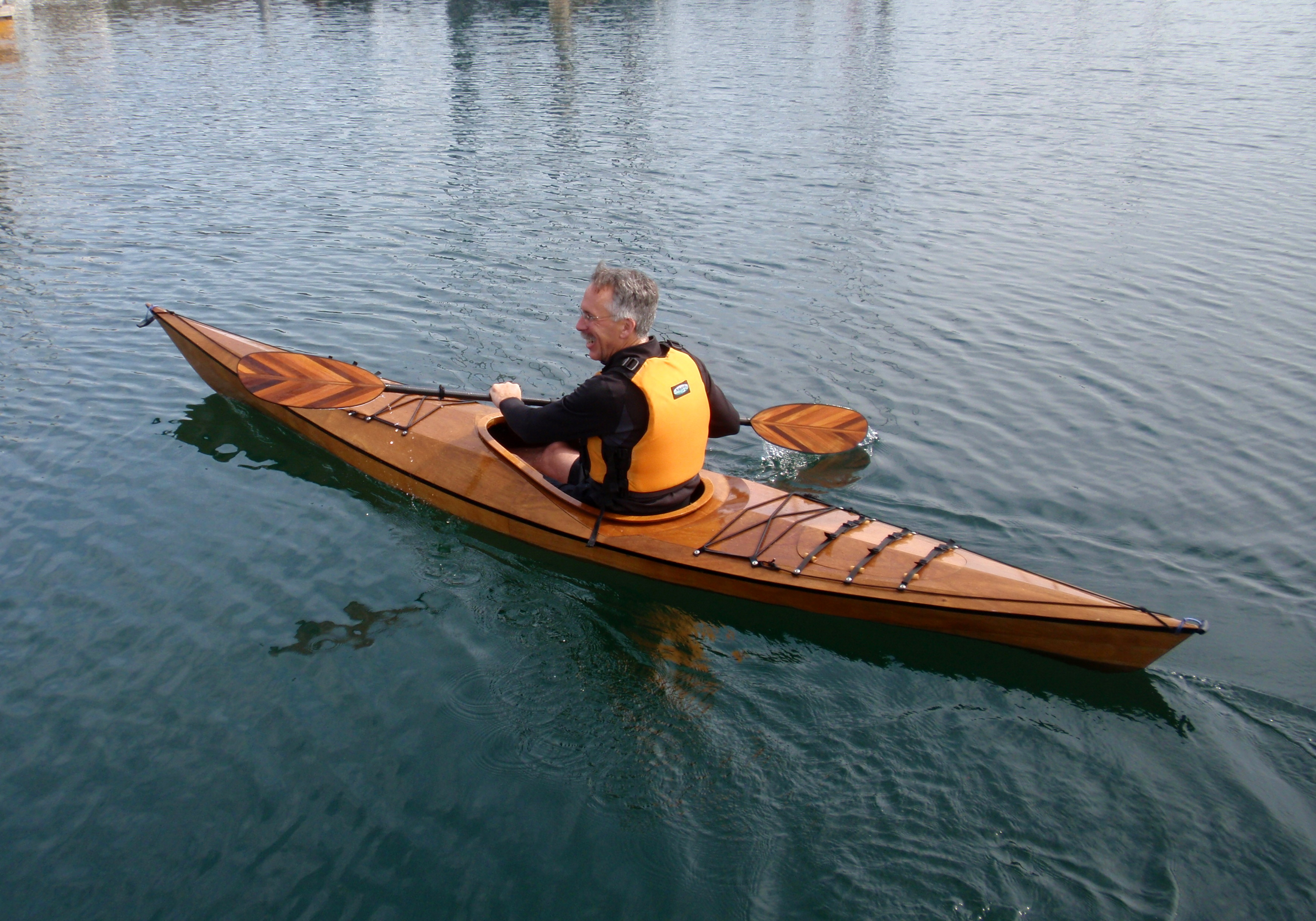 Wooden kayak company is a profile of perseverance