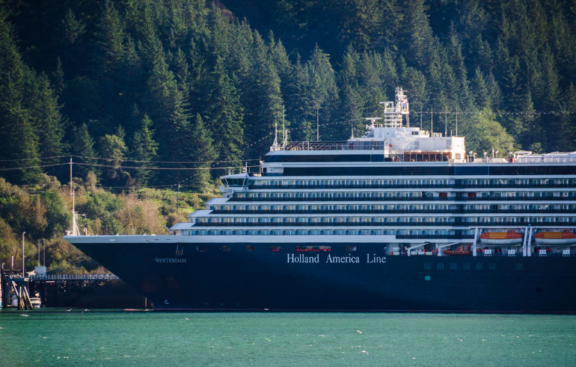 The Westerdam made an unscheduled stop in Juneau after cancelling other port calls due to bad weather.