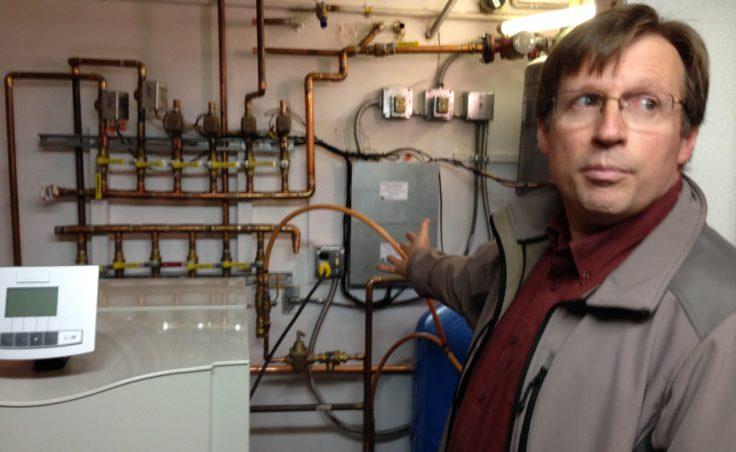 Bob Deering home wood boiler