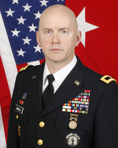 Brigadier General Mike Bridges. Photo from the Department of Military and Veterans Affairs.