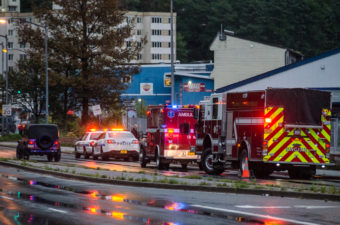 Juneau police responded to a report of a death along Egan Drive shortly after 7 this morning.