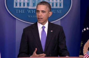 On Nov. 15 President Obama addressed issues with the rollout of the Affordable Care Act and proposed fixes for cancelled insurance plans. (Still from briefing video)
