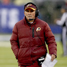 He's out: Washington Redskins head coach Mike Shanahan on Sunday during the team's loss to the New York Giants. He was fired on Monday. Jeff Zelevansky/Getty Images