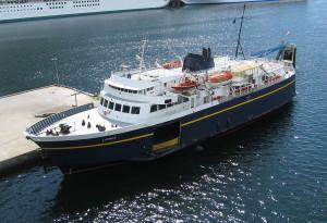 LeConte ferry in Skagway