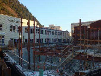 Soboleff Center December 2013 construction update