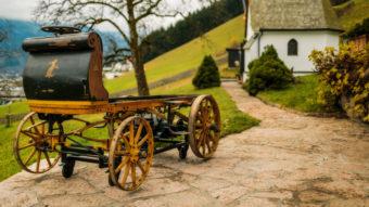 """The P1, now known as the """"first Porsche."""" Juergen Skarwan/Porsche.com"""