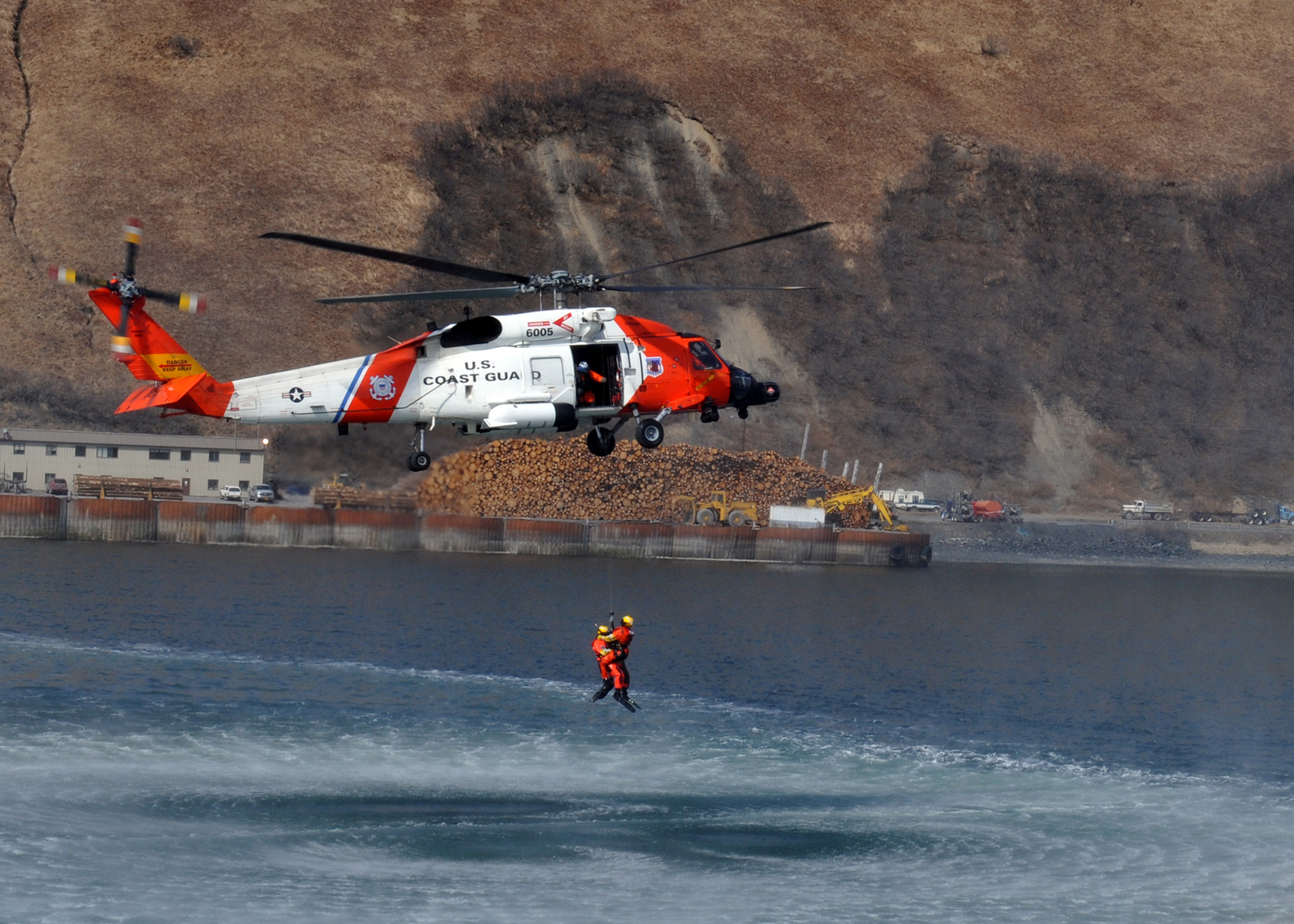 Uscg S Cold Bay Crews Conduct 5th Rescue In Two Weeks