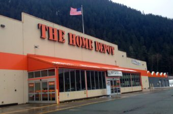 Juneau's Home Depot, pictured here in 2014, is located in the Lemon Creek area on Commercial Boulevard.