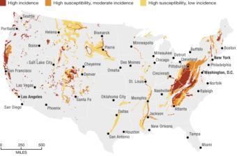 Source: U.S. Geological Survey. Credit: Alyson Hurt/NPR