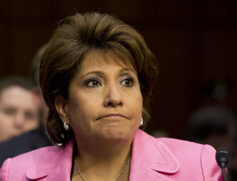 Janet Murguía, president and CEO of the National Council of La Raza. Jacquelyn Martin/AP