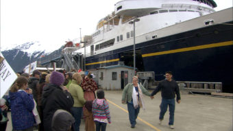 Skagway dock 5/5/13 Malaspina