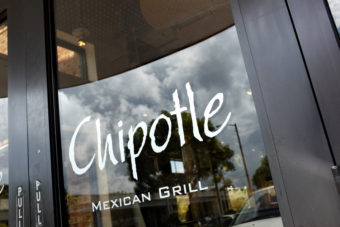 A Chipotle restaurant is seen on in Miami, Florida. Joe Raedle/Getty Images