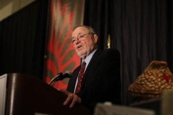 Representative Don Young speaking in Washington, DC. (Photo courtesy Don Young congressional webpage)