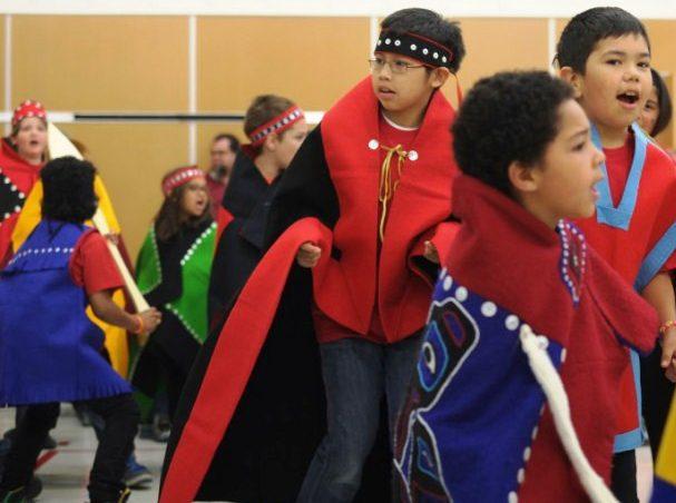 GVES Tlingit dancers