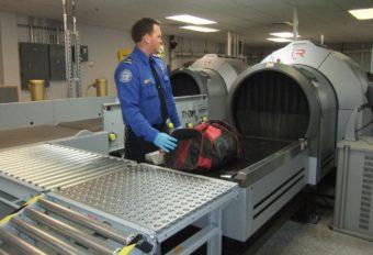Juneau airport baggage scanning machines