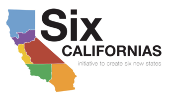 An image from the Six Californias website shows the proposed borders of its plan to slice the state into areas that the plan's backers say would be more manageable. Six Californias