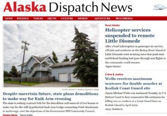 Users trying to visit adn.com or alaskadispatch.com will be redirected to the new Alaska Dispatch News site.