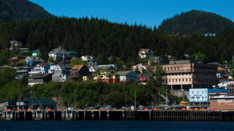 The Ketchikan skyline. Creative Commons Photo by Dave Bezaire)