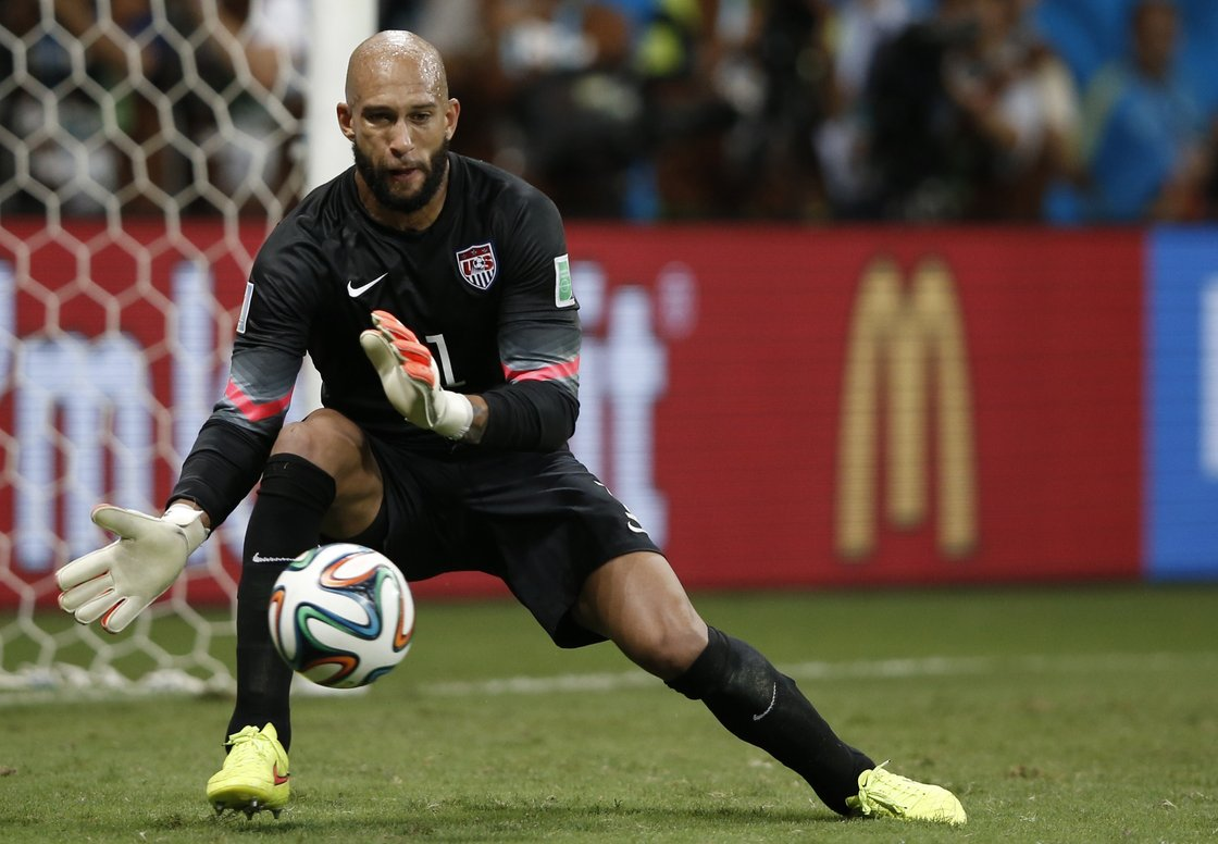 5aeac56f4c4 Tim Howard Emerges As Hero In U.S. World Cup Loss