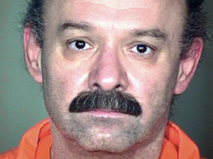 An undated file photo from the Arizona Department of Corrections shows inmate Joseph Rudolph Wood, who was executed Wednesday. After the lethal injection process began, Wood reportedly remained alive for nearly two hours. AP