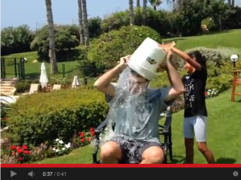 """U.S. Ambassador to Israel Daniel Shapiro accepted the ALS """"Ice Bucket Challenge."""" Soon after, the State Department warned that participation by high-profile diplomats was a violation of internal policy. YouTube"""