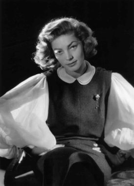 Lauren Bacall in 1951. She had a rich movie and stage career and won Tony awards for Applause and Woman of the Year. Baron/Getty Images