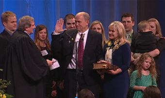 Walker oath of office