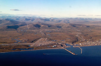 An aerial view of Nome. (Photo courtesy David Dodman)