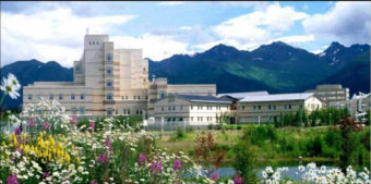 The Alaska Native Medical Center in Anchorage. (Photo courtesy of ANTHC)