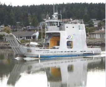 The Rainforest Islander is scheduled to link South Mitkof Island, Wrangell and Pettersburg starting in mid-July (Photo courtesy of Rainforest islands Ferry)