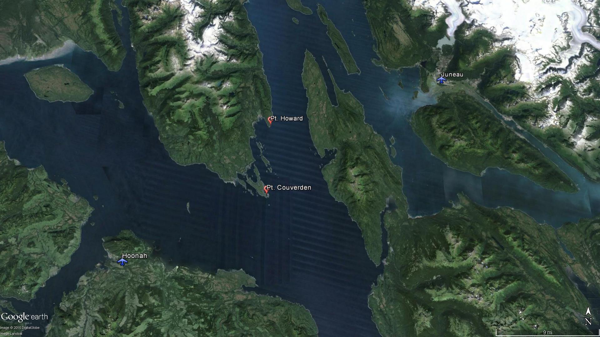 Huna Alaska Map.4 Survive 1 Dead In Juneau To Hoonah Plane Crash