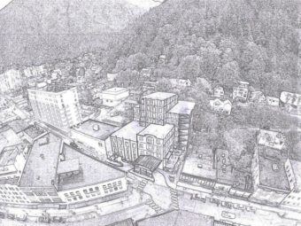 Bauer Clifton - Gastineau Apartments redevelopment concept art