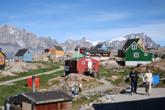 The village of Ukkusissat, Greenland, near where the researchers conducted their study of the Inuit diet. Malik Mifeldt/Science