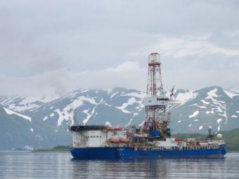 The Noble Discoverer in Unalaska in 2012. (KUCB file photo)