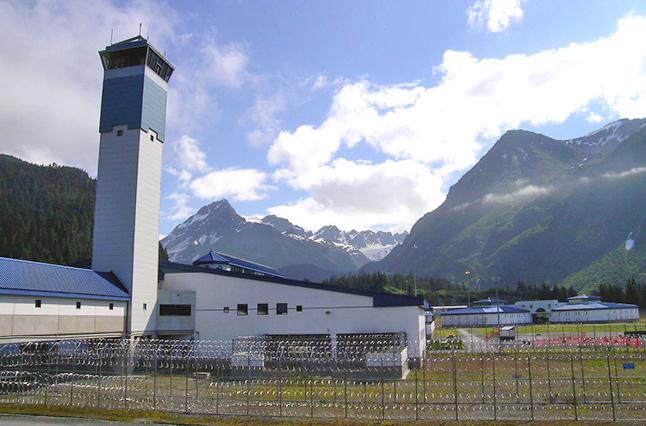 Spring Creek Correctional Center in Seward. (Photo courtesy Alaska Department of Corrections)