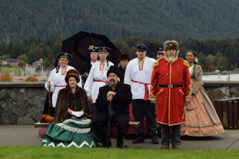 Alaska Day on Castle Hill, Sitka