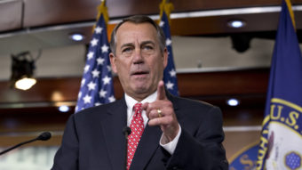 "House Speaker John Boehner has said he wants to ""clean the barn"" before he leaves Congress. And it appears he's edging closer to a two-year budget deal that would take some pressure off his successor. J. Scott Applewhite/AP"