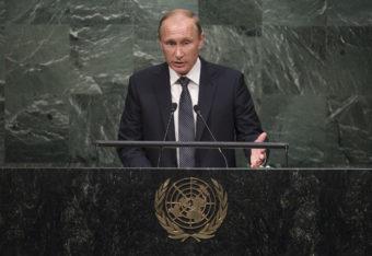 Vladimir Putin at U.N.