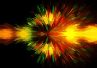 Color explosion. (Public Domain photo)