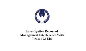 IG BOEM report coverpage