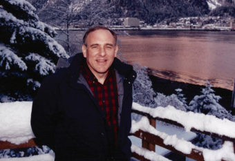 Jamie Parsons was named Juneau Citizen of the Year in 1994, around the time this photo was taken. (Photo courtesy Win Gruening)
